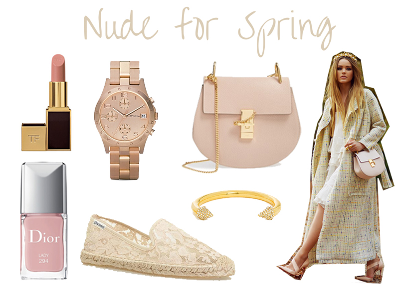 Nude for spring