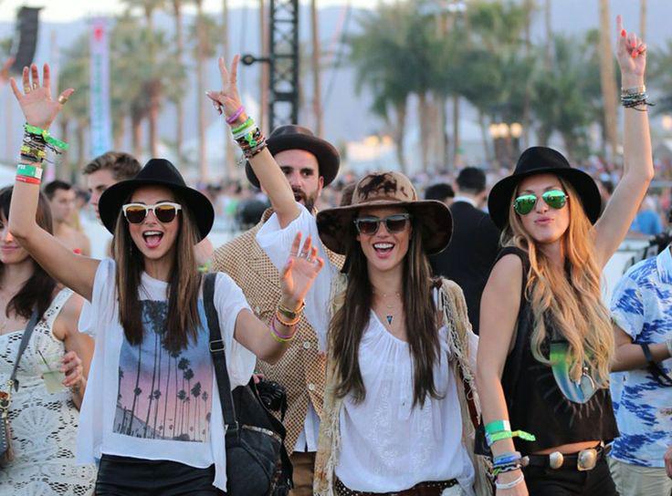 Inspirations: le look Coachella